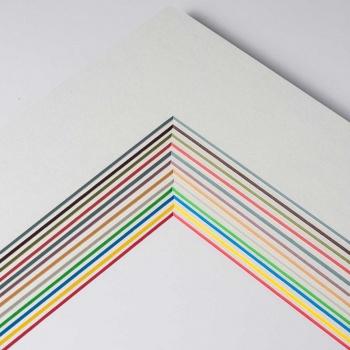 1,7 mm ColorCore Passepartout mit individuellem Ausschnitt