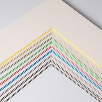 2,2 mm ColorCoreStripe Passepartout nach Maß