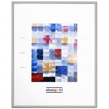 Alurahmen Dornbirn 13x18 cm | Silber | Normalglas