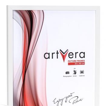 Holzrahmen Uppsala 20x30 cm | Weiß | Normalglas