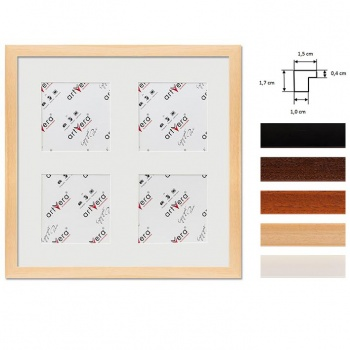 4er Galerierahmen Uppsala in 30x30 cm für 10x10