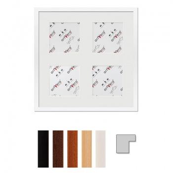 4er Galerierahmen Uppsala in 40x40 cm für 13x13 cm