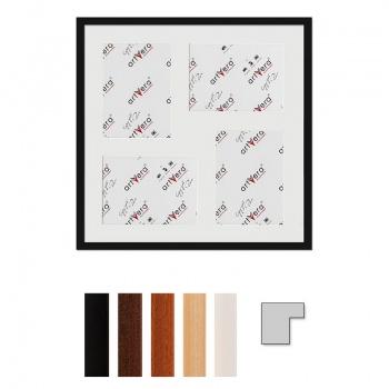 4er Galerierahmen Uppsala in 50x50 cm für 15x20
