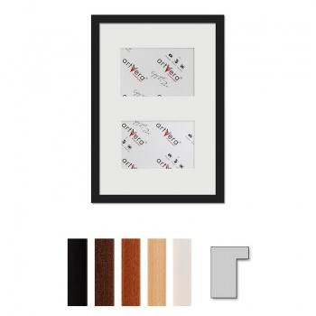2er Galerierahmen Lund in 25x35 cm für 10x15