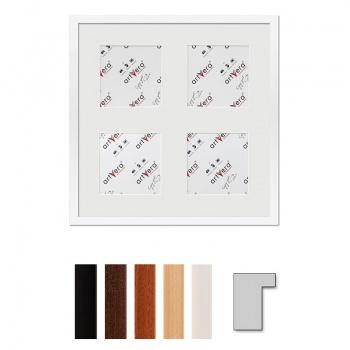 4er Galerierahmen Lund in 40x40 cm für 13x13 cm