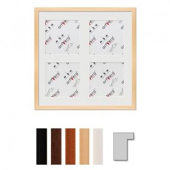 4er Galerierahmen Lund in 40x40 cm für 15x15