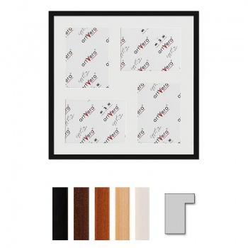 4er Galerierahmen Lund in 50x50 cm für 15x20