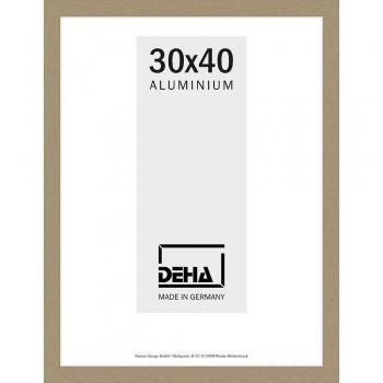 Alu-Bilderrahmen Polaris 60x70 cm | Altsilber | Normalglas