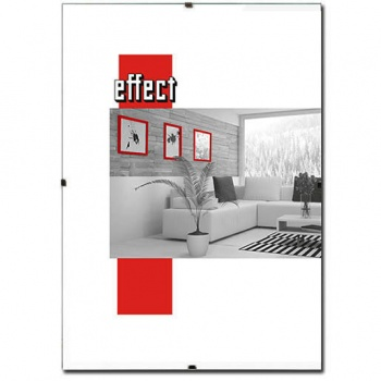 Rahmenloser Bildhalter XL nach Maß bis 100x160 cm