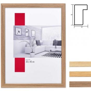 Holz-Bilderrahmen Profil 54