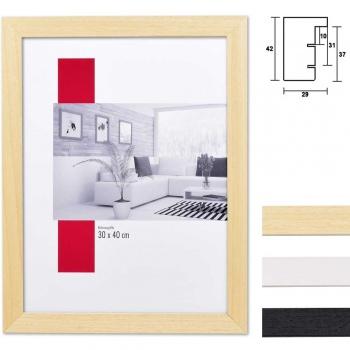 Holz-Bilderrahmen Profil 55