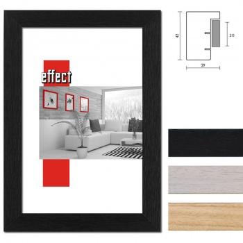 Holz-Bilderrahmen Profil 55 mit Distanzleiste nach Maß