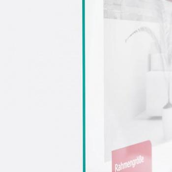Antireflex-Ersatzglas für Bilderrahmen