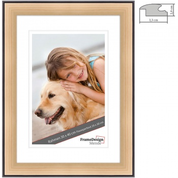 Holz-Bilderrahmen Chuchasa nach Maß