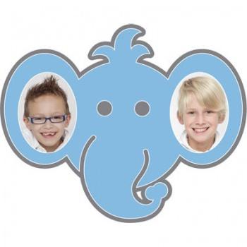 "Motiv-Passepartout ""Elefant"""