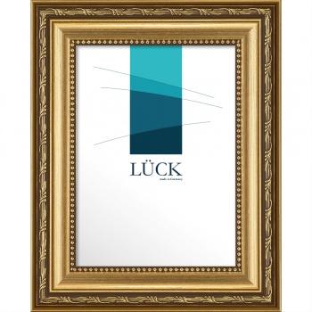 Barockrahmen Fichtenau 60x80 cm | Gold | Antireflexglas