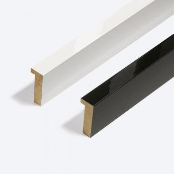 Holzleiste Matrix B&W 20x52