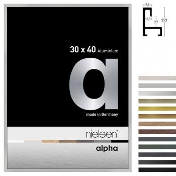 Aluminiumleiste Profil alpha