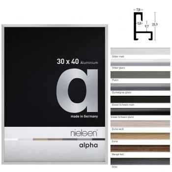 Aluminiumleiste Profil alpha nach Maß