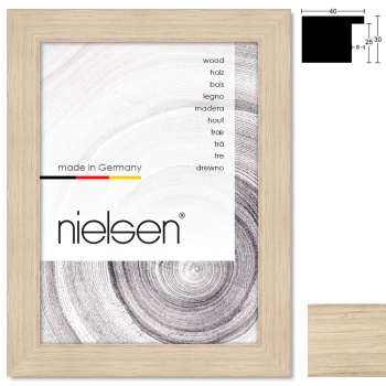 Holzleiste Oakwoods 40x30 nach Maß