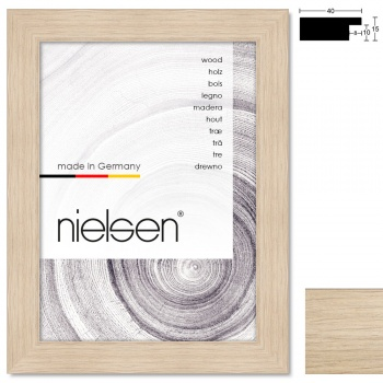 Holzleiste Oakwoods 40x15 nach Maß