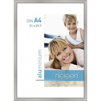Alurahmen Classic 21x29,7 cm (A4) | Silber matt | Normalglas