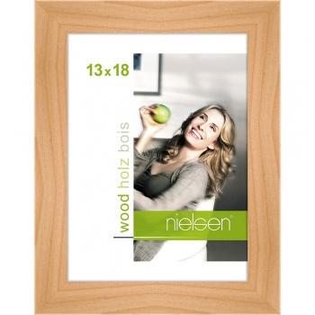 Holzrahmen Essential 13x18 cm | Birke | Normalglas