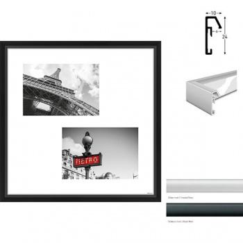 Galerierahmen Junior Quadratisch 2 Bilder