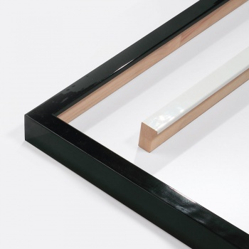 Holzleiste Matrix B&W 20x34