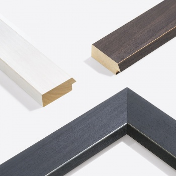 Holzleiste Modern Shabby 75 nach Maß