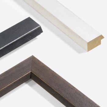 Holzleiste Modern Shabby 50 nach Maß
