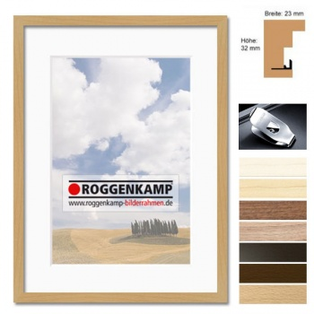 Holz-Bilderrahmen aus Buche / Ahorn