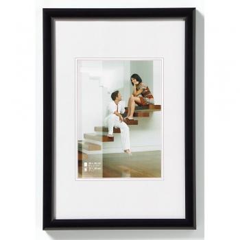 Kunststoff-Bilderrahmen Talk 15x20 cm   schwarz   Normalglas