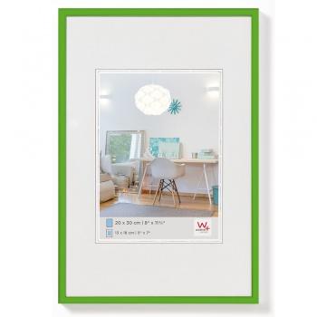 Kunststoff-Bilderrahmen New Lifestyle 20x30 cm | Grün | Normalglas