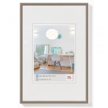 Kunststoff-Bilderrahmen New Lifestyle 20x30 cm | Stahl | Normalglas