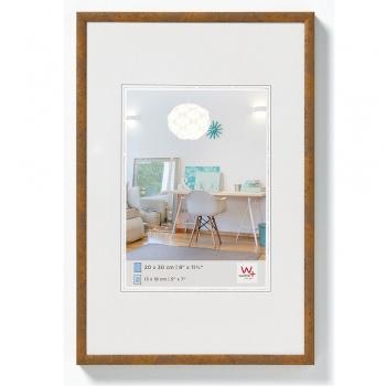 Kunststoff-Bilderrahmen New Lifestyle 20x30 cm | Taupe | Normalglas