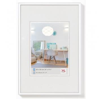 Kunststoff-Bilderrahmen New Lifestyle 20x30 cm | Weiß | Normalglas