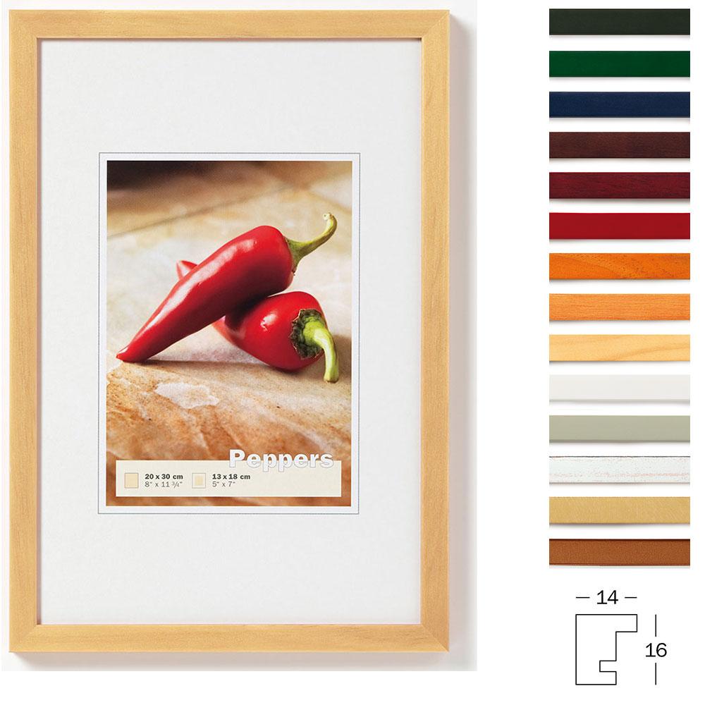 Holz-Bilderrahmen Pepper | Bilderrahmen-Megashop.de